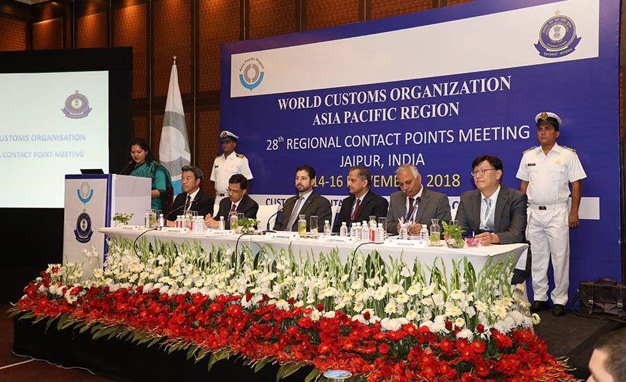 28th WCO A/P Regional Contact Points (RCP) meeting, 14-16 November, 2018 Jaipur, India